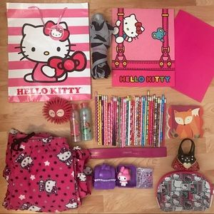 Hello Kitty Huge Bundle Back To School Supplies